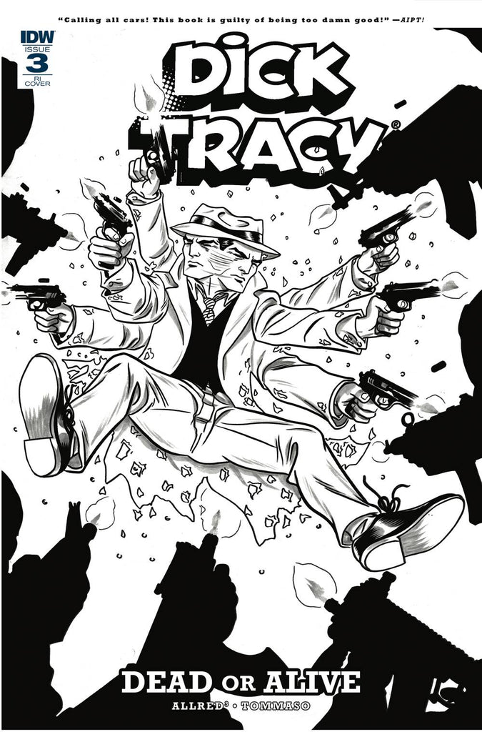 Dick Tracy: Dead Or Alive #3 1/10 Michael Allred Coloring Book Variant