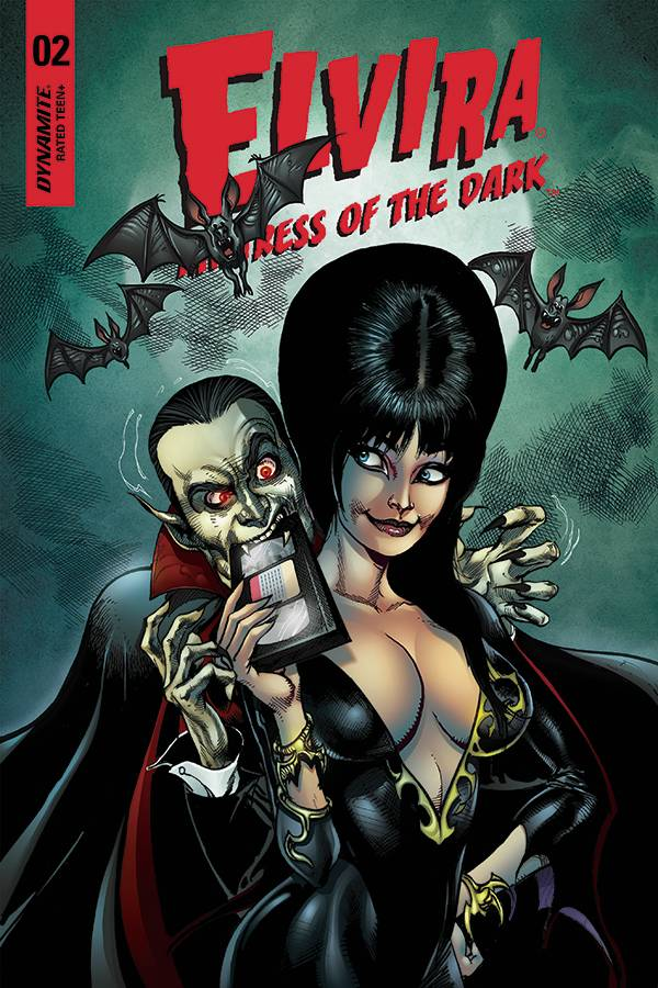 Elvira Mistress of the Dark #2 1/5 Roberto Castro Variant
