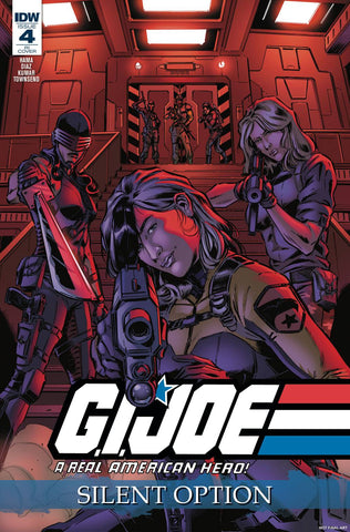 GI Joe A Real American Hero Silent Option #4 1/10 S. L. Gallant Variant