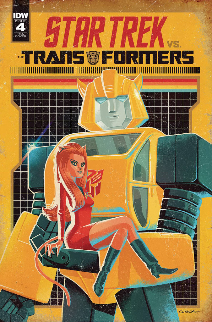 Star Trek vs Transformers #4 1/10 George Caltsoudas Variant