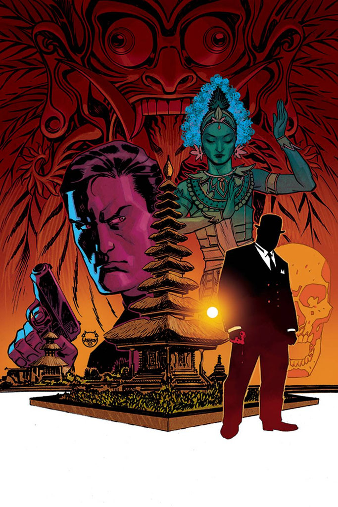 James Bond 007 #2 1/10 Dave Johnson Virgin Art Variant