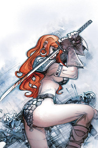 Red Sonja #24 1/20 Moritat Virgin Art Variant