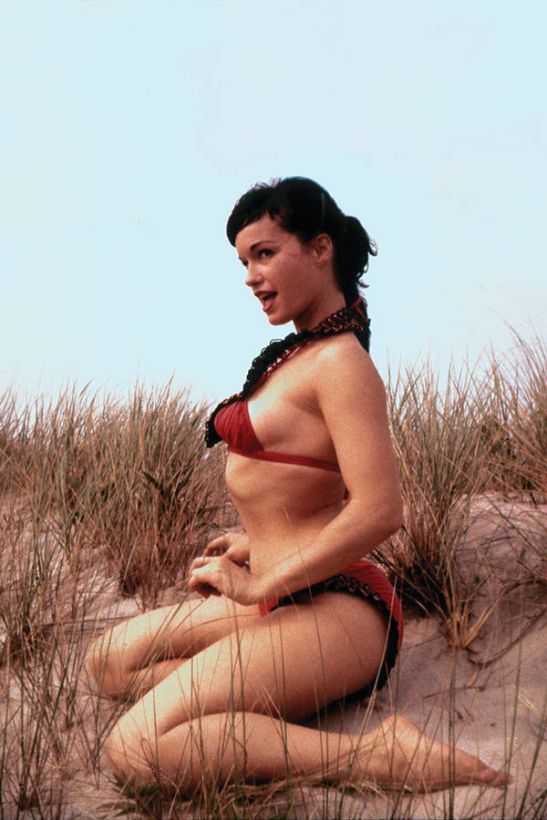 Bettie Page #3 1/10 Pin-Up Virgin Photo Variant