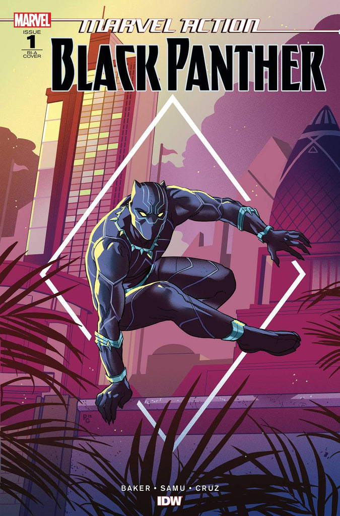 Marvel Action Black Panther #1 1/10 Kyle Baker Variant