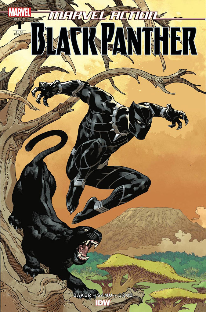 Marvel Action Black Panther #1 1/50 Gabriel Rodriguez Variant