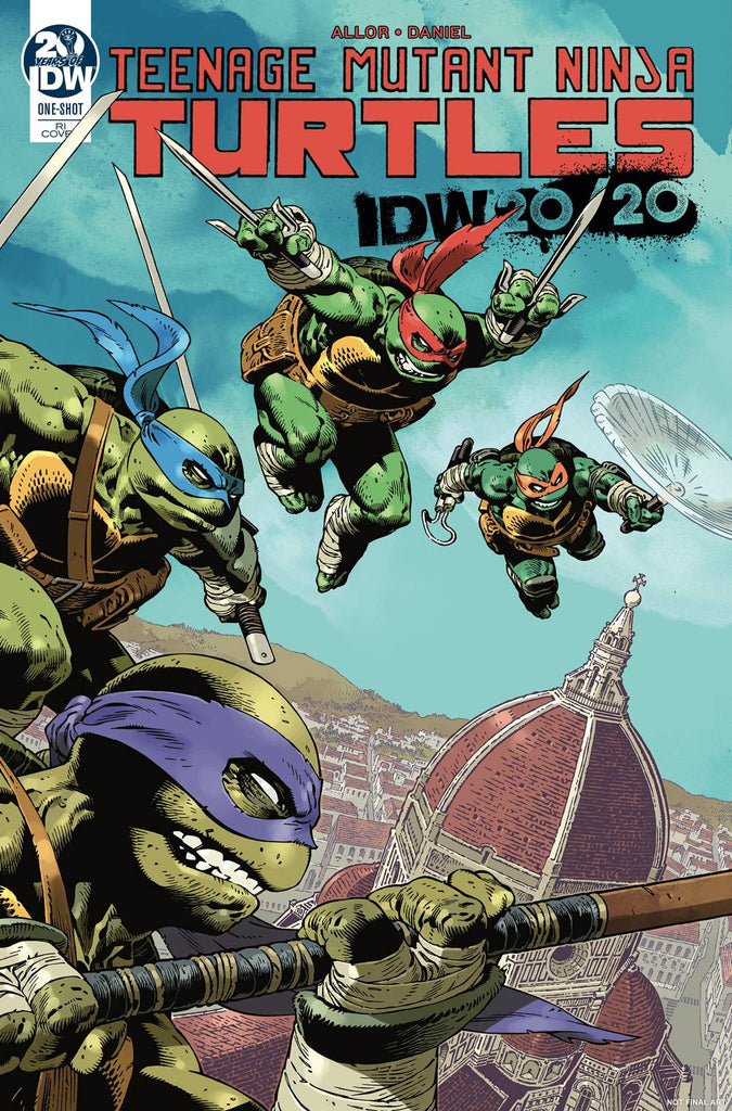 Teenage Mutant Ninja Turtles IDW 2020 1/10 Gabriel Rodriguez Variant