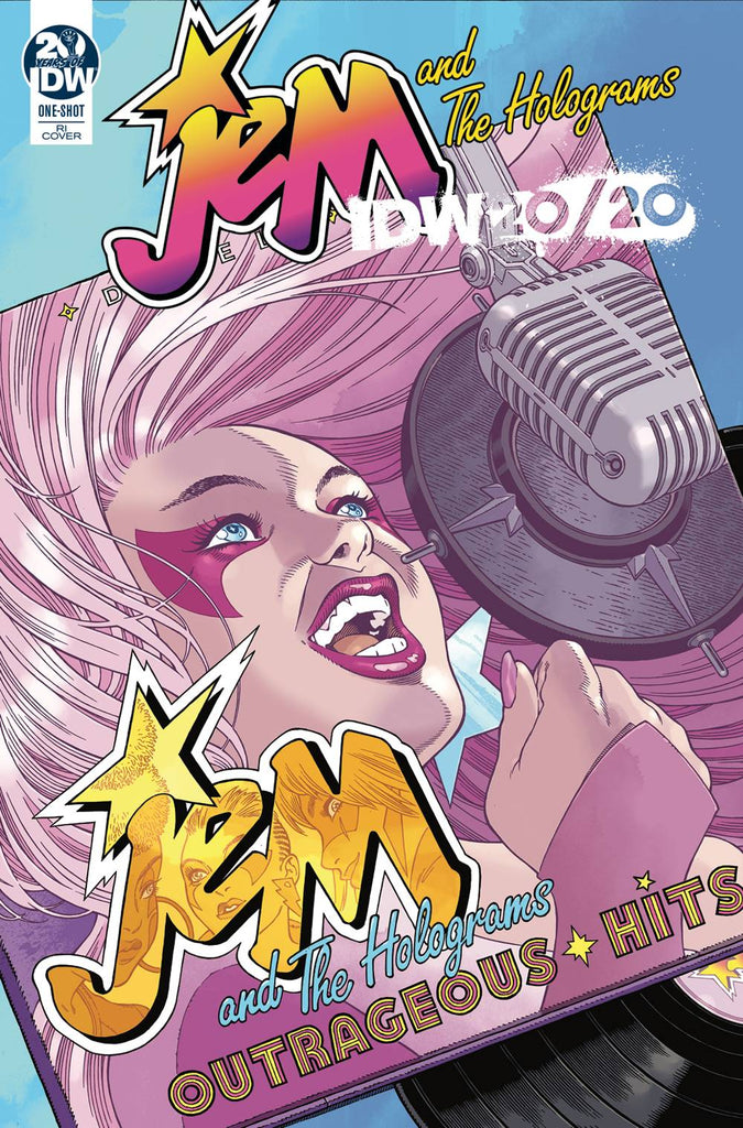 Jem and the Holograms IDW 2020 1/10 Gabriel Rodriguez Variant