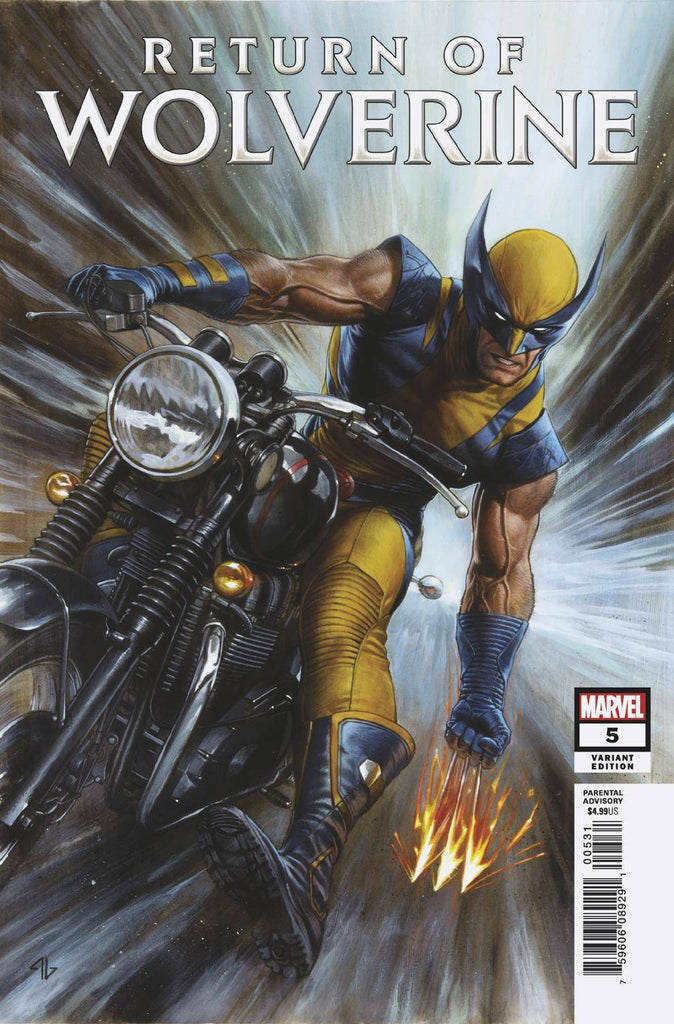 Return of Wolverine #5 1/25 Adi Granov Variant