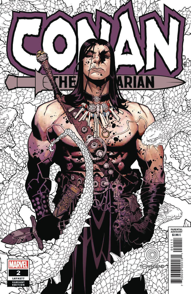 Conan The Barbarian #2 1/25 Chris Bachalo Variant