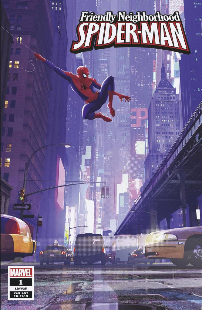 Friendly Neighborhood Spider-Man #1 1/10 Spider-Verse Animation Variant