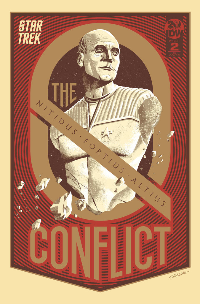 Star Trek The Q Conflict #2 1/10 George Caltsoudas Variant