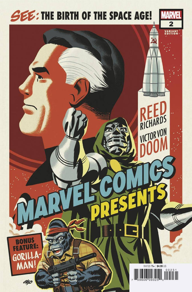 Marvel Comics Presents #2 1/25 Michael Cho Variant