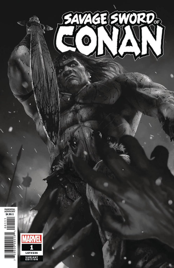 Savage Sword of Conan #1 1/50 Rahzzah Variant