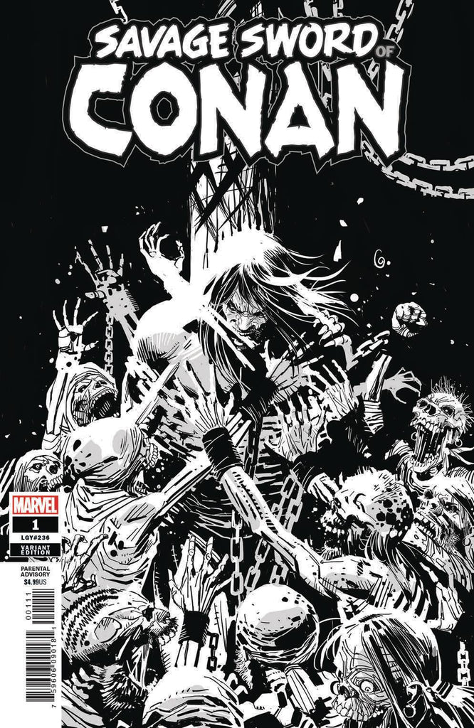 Savage Sword of Conan #1 1/50 Ron Garney Variant