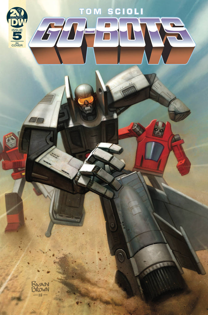 Go-Bots #5 1/10 Ryan Brown Variant