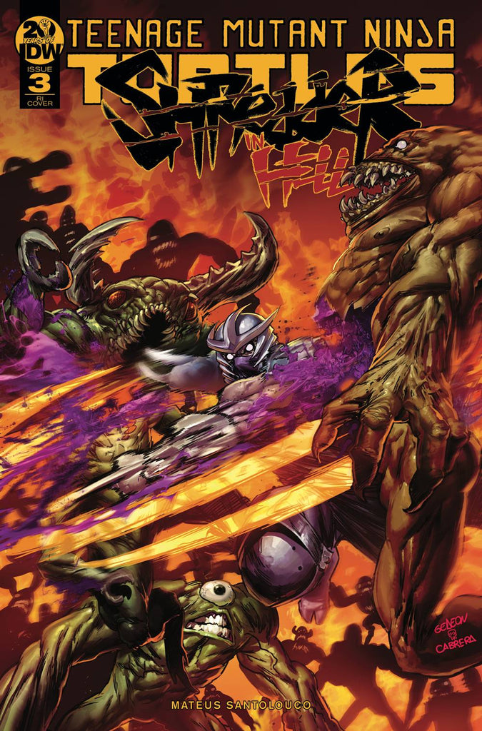 Teenage Mutant Ninja Turtles Shredder In Hell #3 1/10 Juan Gedeon Variant