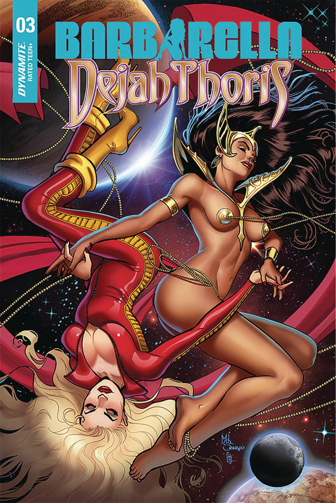 Barbarella Dejah Thoris #3 1/10 Maria Sanapo Seduction Variant