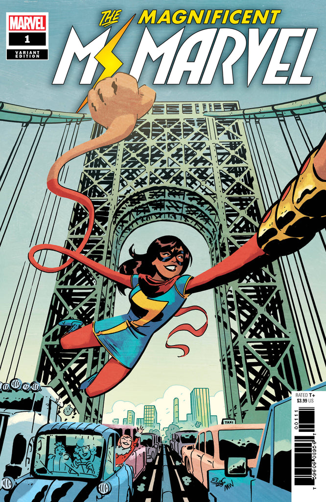 Magnificent Ms Marvel #1 1/50 Elsa Charretier Variant