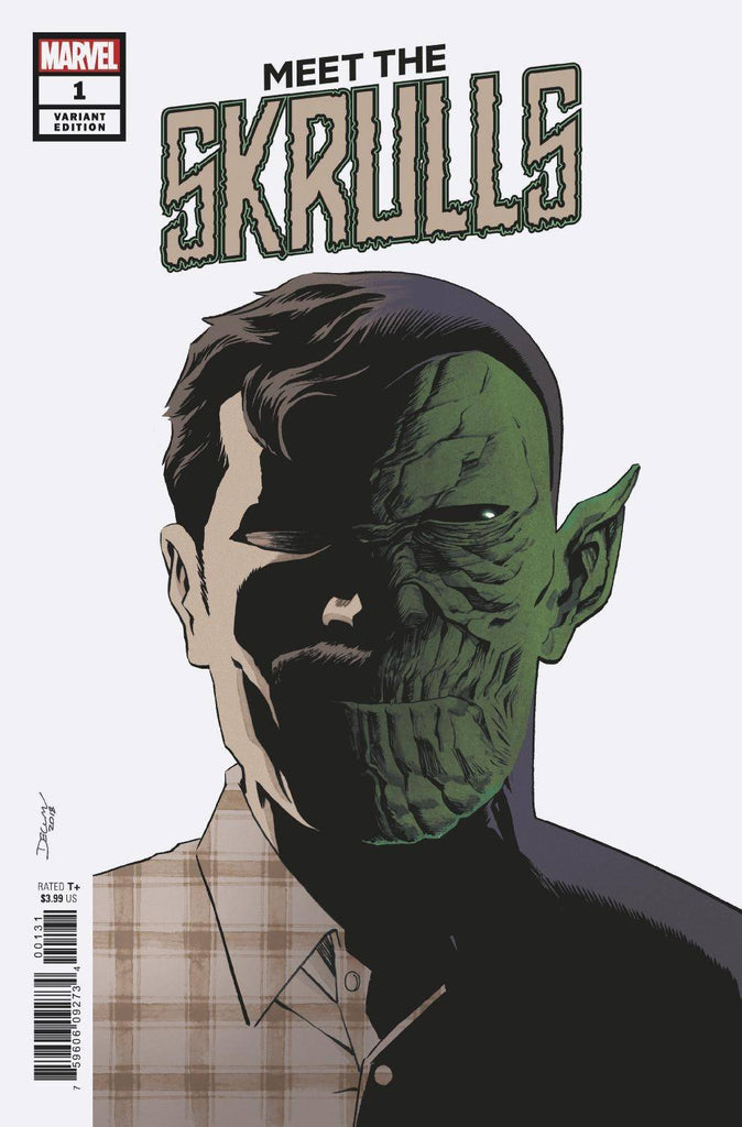 Meet The Skrulls #1 1/25 Declan Shalvey Variant