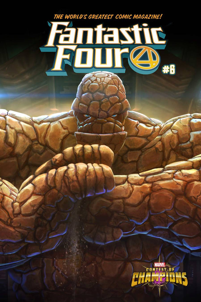 Fantastic Four #6 One Per Store The Thing Contest of Champions Mystery Variant