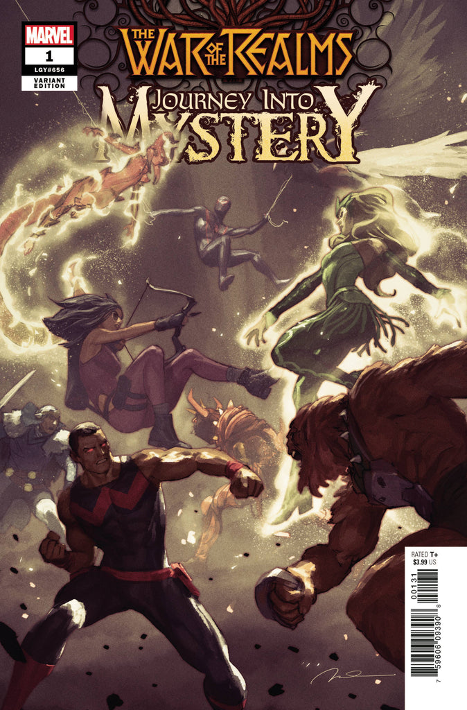 War of the Realms Journey Into Mystery #1 1/50 Gerald Parel Variant