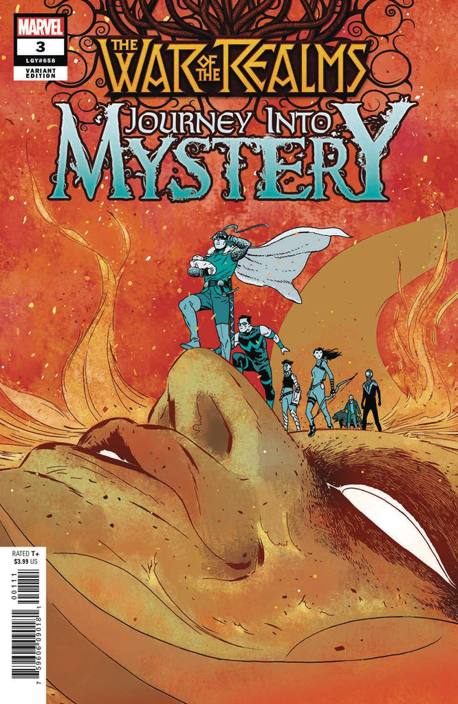 War of the Realms Journey Into Mystery #3 1/25 Marcos Martin Variant