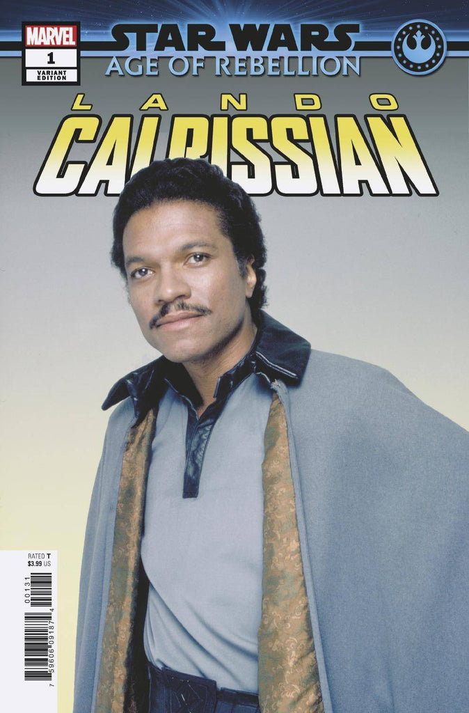Star Wars Age of Rebellion Lando Calrissian #1 1/10 Movie Photo Variant