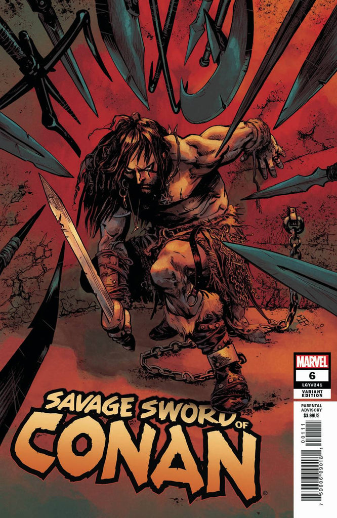 Savage Sword Of Conan #6 1/50 Max Fiumara Variant