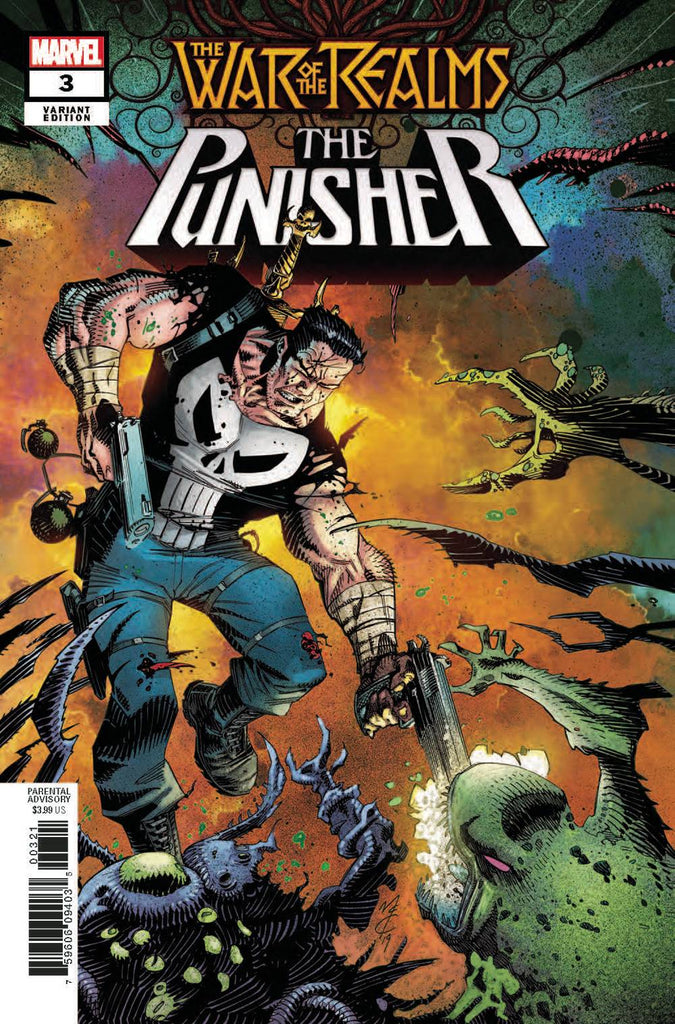 War of the Realms The Punisher #3 1/25 John McCrea Variant