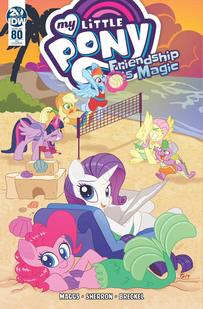 My Little Pony Friendship Is Magic #80 1/10 Trish Forstner Variant