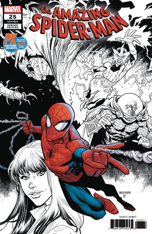 Amazing Spider-Man #25 Ryan Ottley SDCC 2019 Variant - 1 of 4000