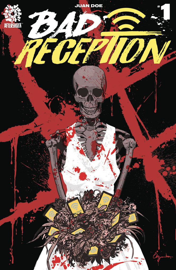 Bad Reception #1 1/10 Paul Azaceta Variant