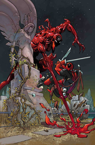 Absolute Carnage vs Deadpool #1 1/100 Pasqual Ferry Virgin Art Variant