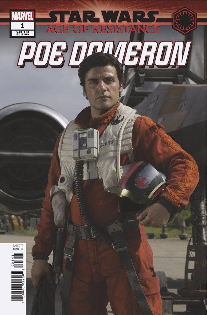 Star Wars Age of Resistance Poe Dameron #1 1/10 Oscar Isaac Photo Variant