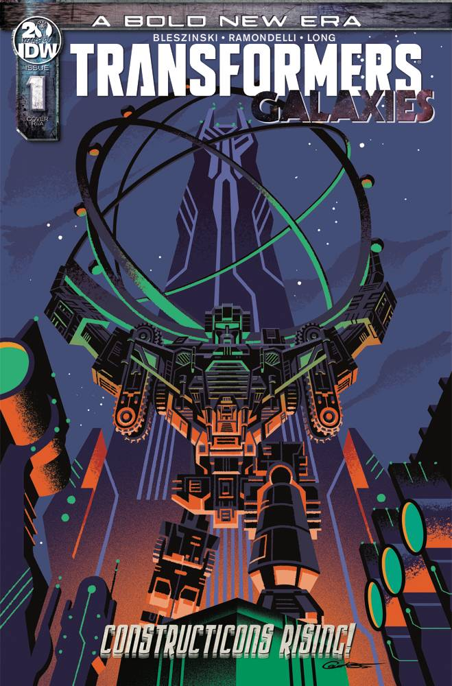 Transformers Galaxies #1 1/10 George Caltsoudas Variant
