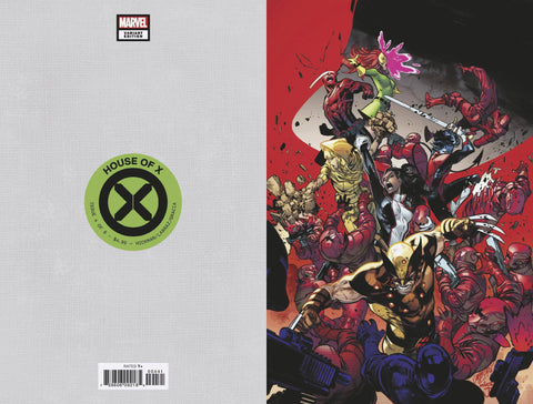 House of X #4 1/100 Pepe Larraz Virgin Art Variant