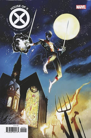 House of X #5 1/10 Mike Huddleston Nightcrawler Variant