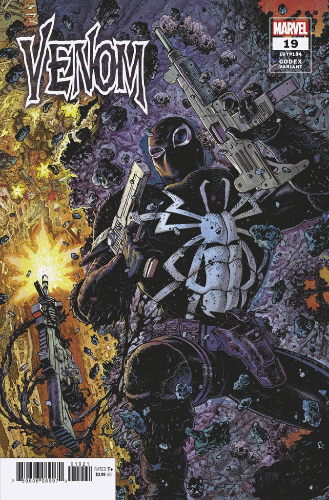Venom #19 1/25 Tony Moore Codex Variant