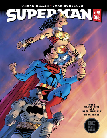 Superman Year One (Vol 1 2019) #3 CVR B Frank Miller