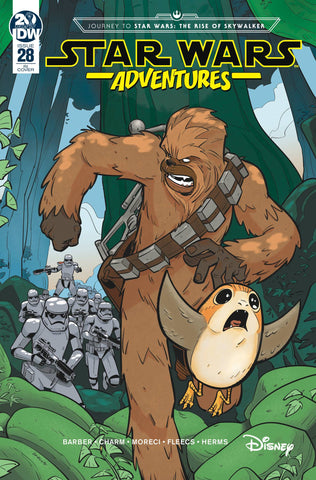 Star Wars Adventures #28 1/10 Manuel Bracchi Variant