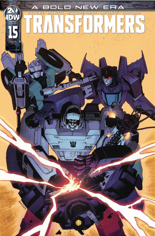 Transformers #15 1/10 Luca Pizzari Variant