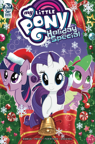 My Little Pony 2019 Holiday Special Valentina Pinto Variant