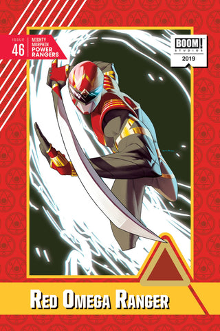 Mighty Morphin Power Rangers #46 1/20 Kris Anka Red Omega Ranger Variant