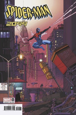 Spider-Man 2099 #1 1/25 Travel Foreman Variant