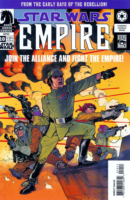 Star Wars - Empire (Vol 1 2003) #10 CVR A