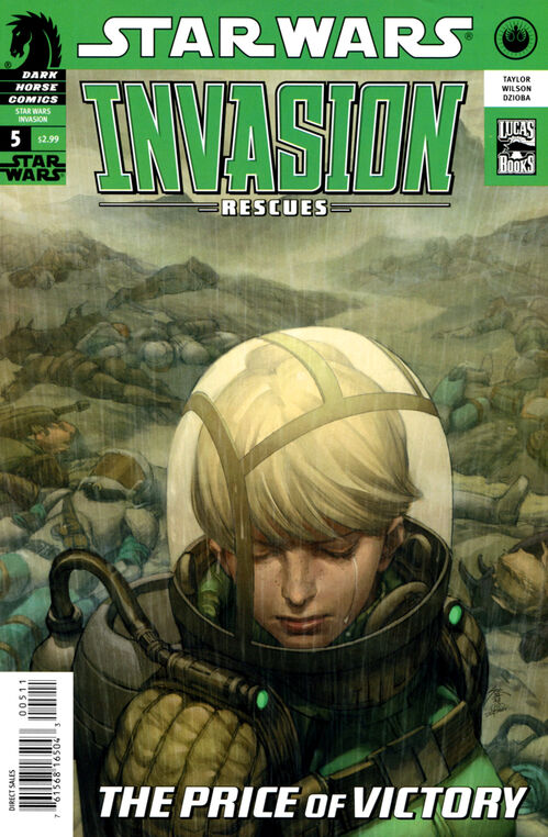 Star Wars - Invasion: Rescues (Vol 1 2010) #5 CVR A