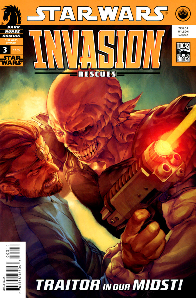 Star Wars - Invasion: Rescues (Vol 1 2010) #3 CVR A
