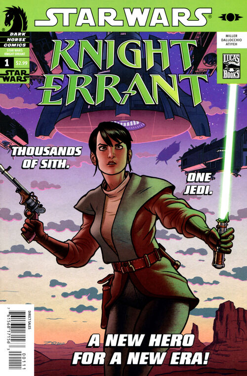 Star Wars - Knight Errant (Vol 1 2010) #1 CVR A