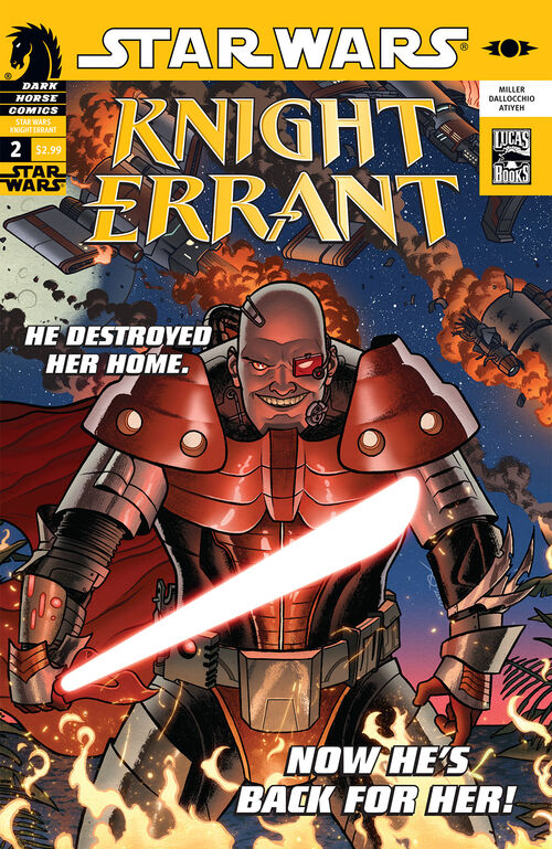 Star Wars - Knight Errant (Vol 1 2010) #2 CVR A