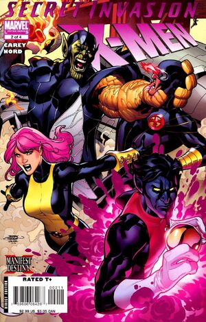 Secret Invasion: X-Men (Vol 1 2008) #2 CVR A